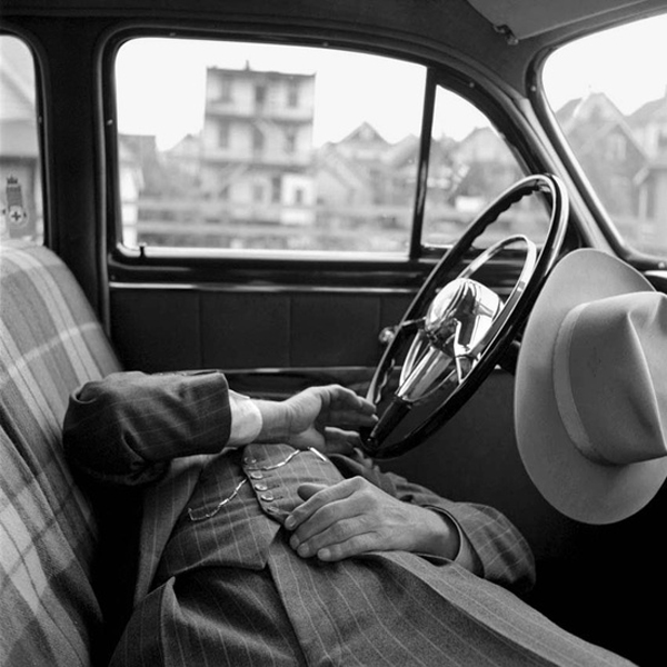 Three Things, The Car Edition: Vivian Maier photograph