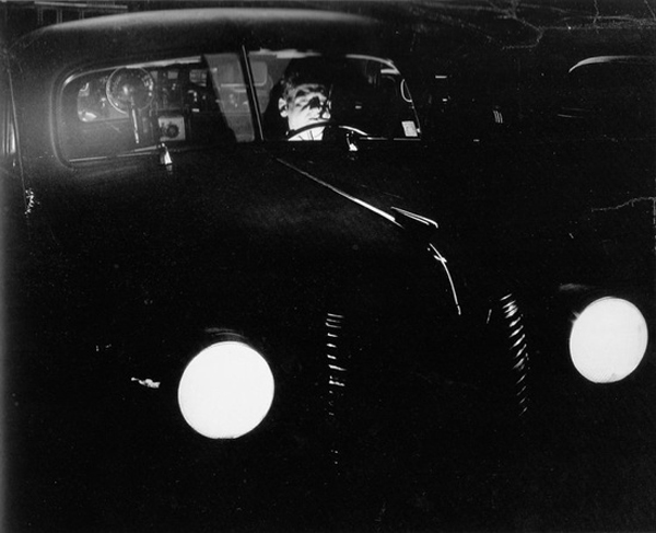 Three Things, The Car Edition: Weegee photograph