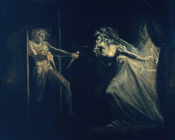 Lady Macbeth Seizing the Daggers
