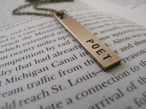 poet necklace